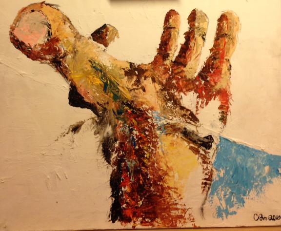 """Carl Axel Mangård """"Tummen mitt i handen"""" 2011"""